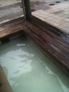 地蔵の足湯