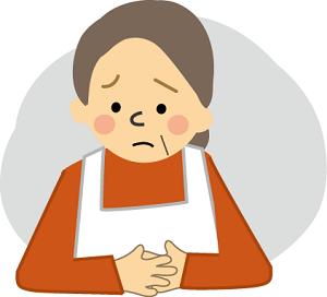 更年期障害がつらい女性
